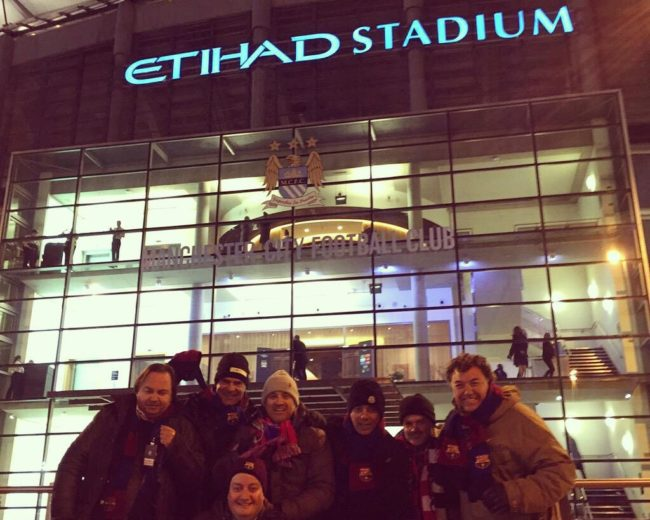 "London – Manchester / Manchester City-Barça at ""Etihad Stadium"" Round 16 ""Champions League"""