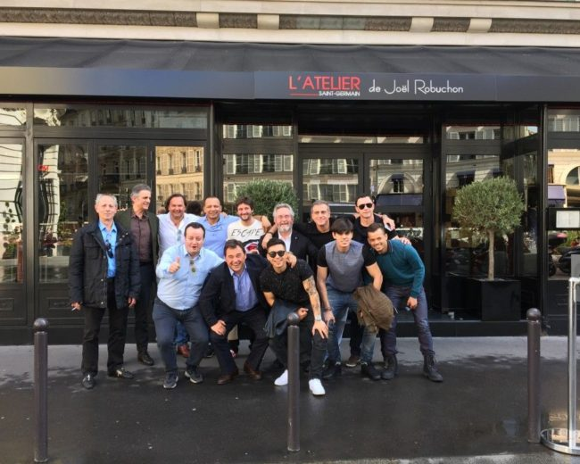 "1/4 Final Champions League and lunch at ""Atelier Joël Robuchon"""