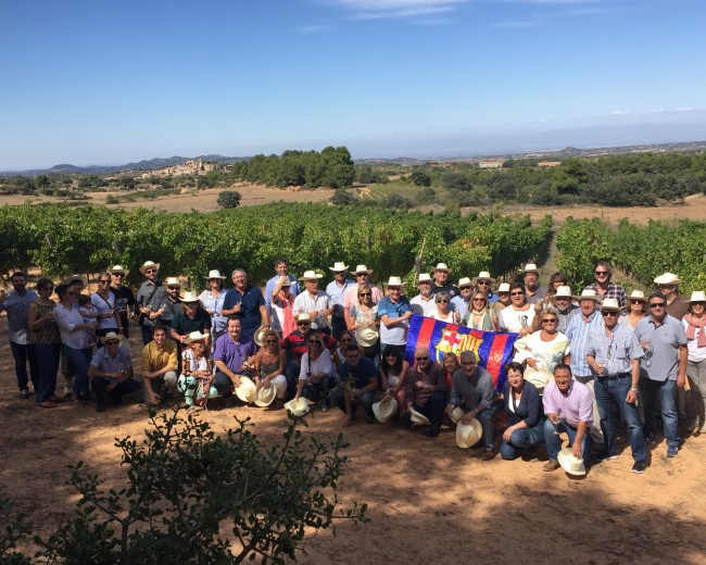 """HARVEST LUNCH"" – ""TOMÀS CUSINÉ WINERY"" – EL VILOSELL (LES GARRIGUES)"