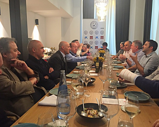 "II LUNCH DISCUSSION, WITH PACO CLOS; ""INFORMAL BY MARC GASCONS""; MÁLAGA CF – FC BARCELONA"