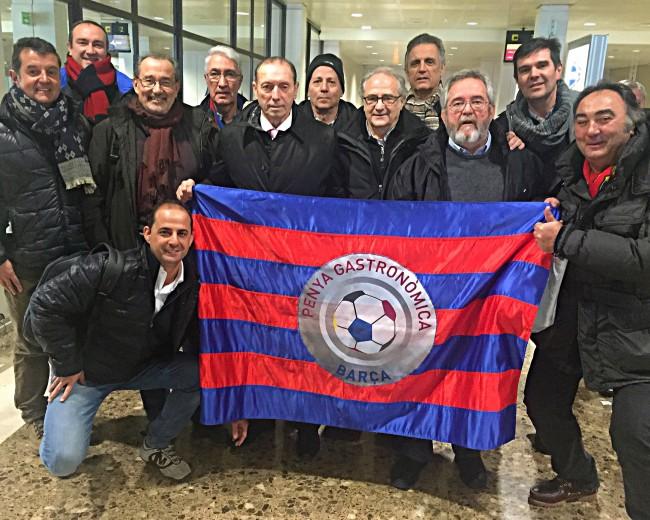 "SPORTING DE GIJÓN-FC BARCELONA, ""GÜEYU MAR"" RESTAURANT (PLAYA DE LA VEGA), ASTURIAS"