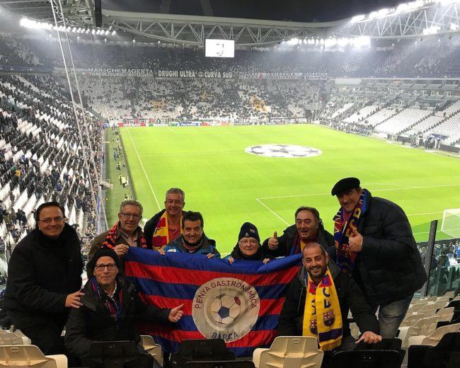 """DESPLAZAMIENTO A TURÍN / JUVENTUS – FC BARCELONA (""""CHAMPIONS LEAGUE"""") Y COMIDA EN """"RISTORANTE ENOTECA PARLAPÀ"""""""