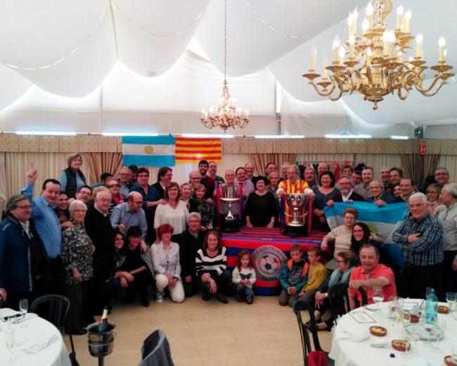 """PRÈVIA AL CLÀSSIC A LA MASIA """"CAN FELIU"""" AMB L'AGERMANAMENT GASTRONÒMIC ARGENTINA – CATALUNYA"""