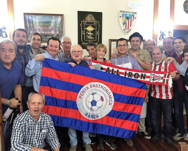 """DESPLAÇAMENT A BILBAO, ATHLETIC CLUB – FC BARCELONA (SAN MAMÉS), DINAR AL """"ASADOR BORDA"""" A GETXO"""