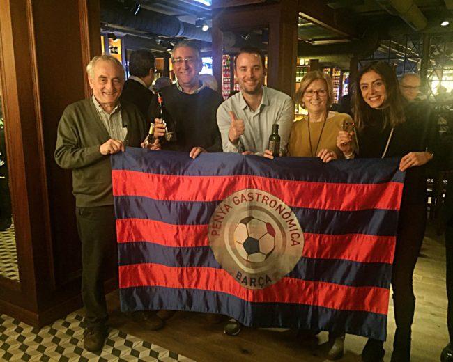 """ATLÈTIC DE MADRID – FC BARCELONA, SEMIFINAL DE COPA AL RESTAURANT """"ALBA GRANADOS"""""""