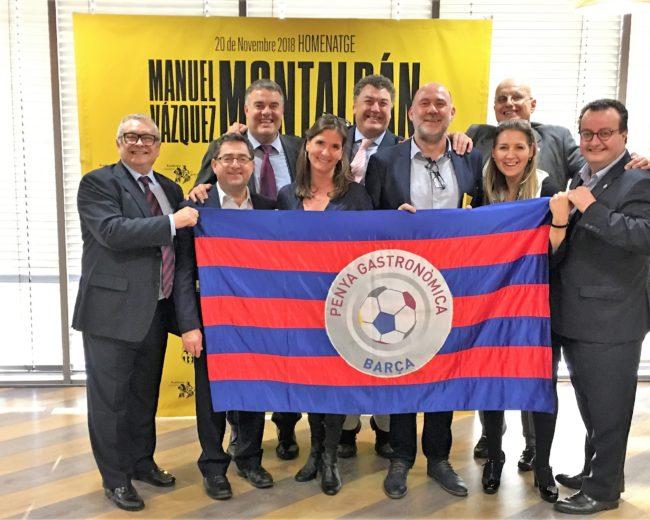 HOMENATGE A MANUEL VÁZQUEZ MONTALBÁN A LA SALA ROMA DE L'ESTADI FC BARCELONA