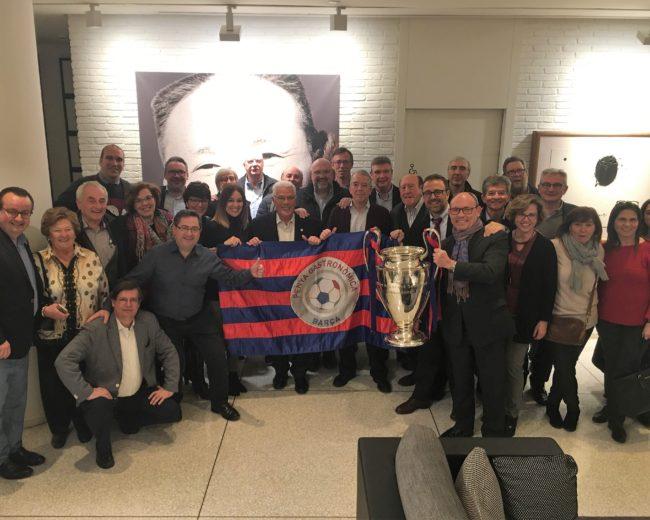 """""""LA LLOTJA DE CHAMPIONS"""" DEL MANCHESTER UTD – FC BARCELONA A L'HOTEL H10 ART GALLERY"""