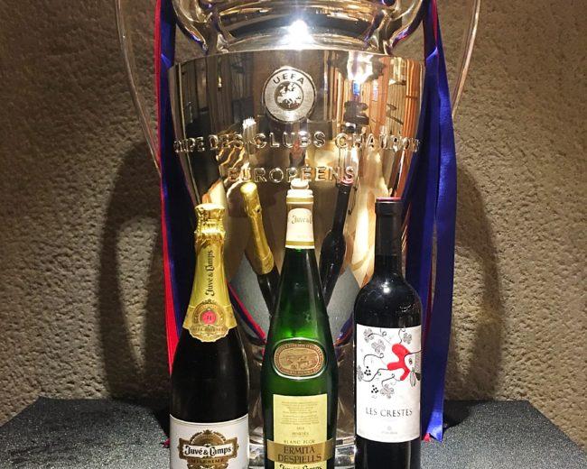 """""""LA LLOTJA DE CHAMPIONS"""" AL CLARIS HOTEL AMB EL LIVERPOOL FC – FC BARCELONA """"CHAMPIONS LEAGUE"""""""
