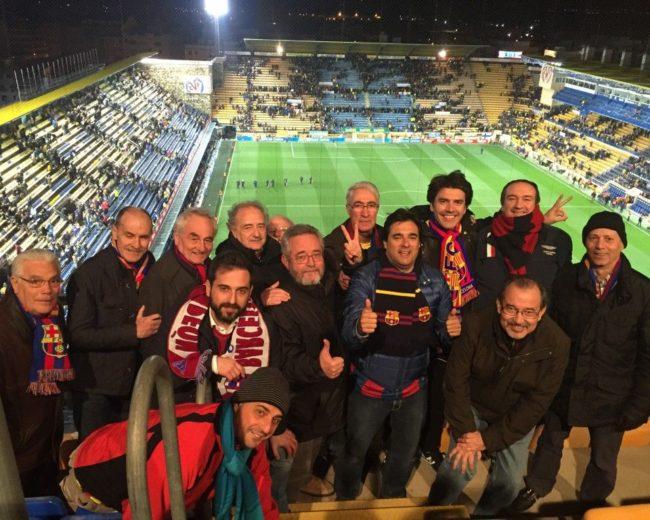 """""""Villa Retiro"""" (Xerta – Delta de l'Ebre) and Villareal – Barça at """"El Madrigal"""" stadium (King's Cup Semi-final)"""